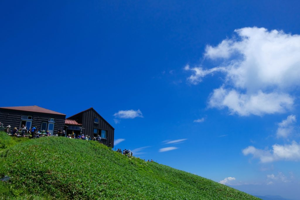 綺麗な山小屋