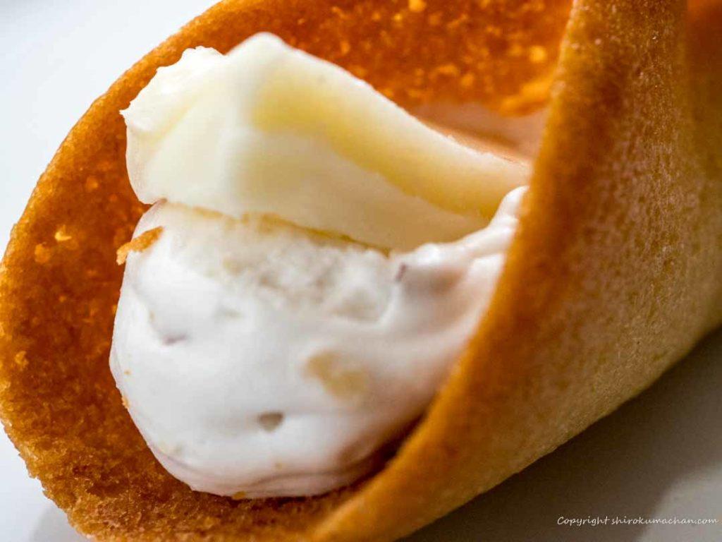 ニューヨークパーフェクトチーズのチーズ