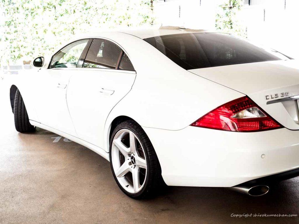 Mercedes-Benz CLS exterior