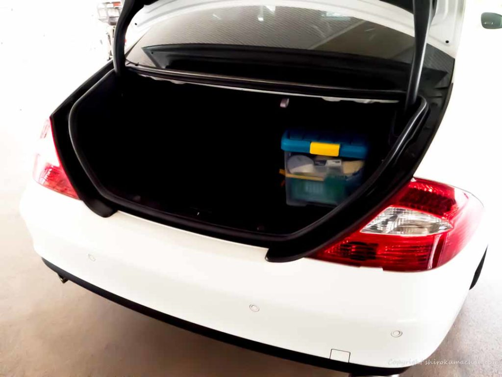 Mercedes-Benz CLS trunk