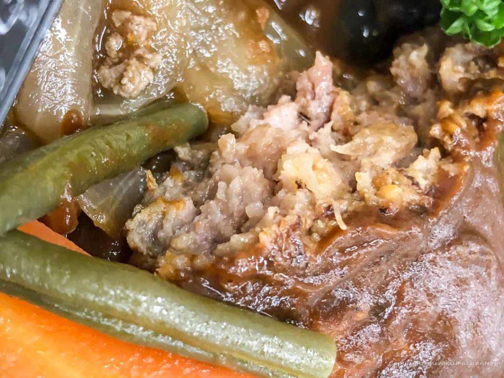つばめグリルDELIハンブルグステーキ弁当-お肉
