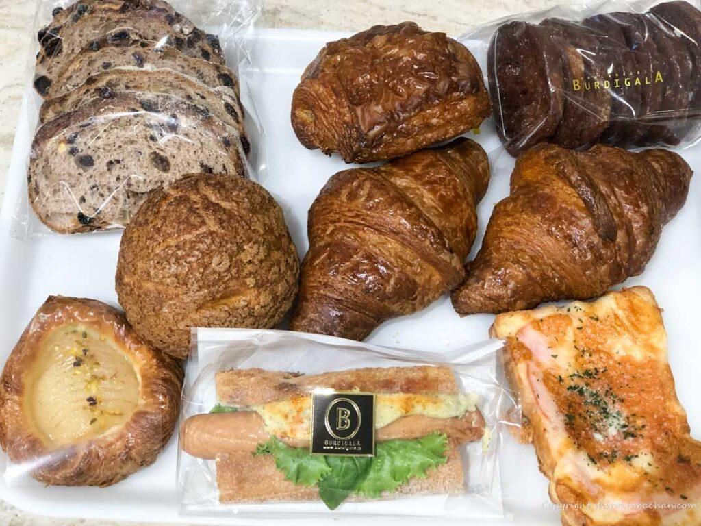 東京駅構内のパン屋さん ブルディガラ