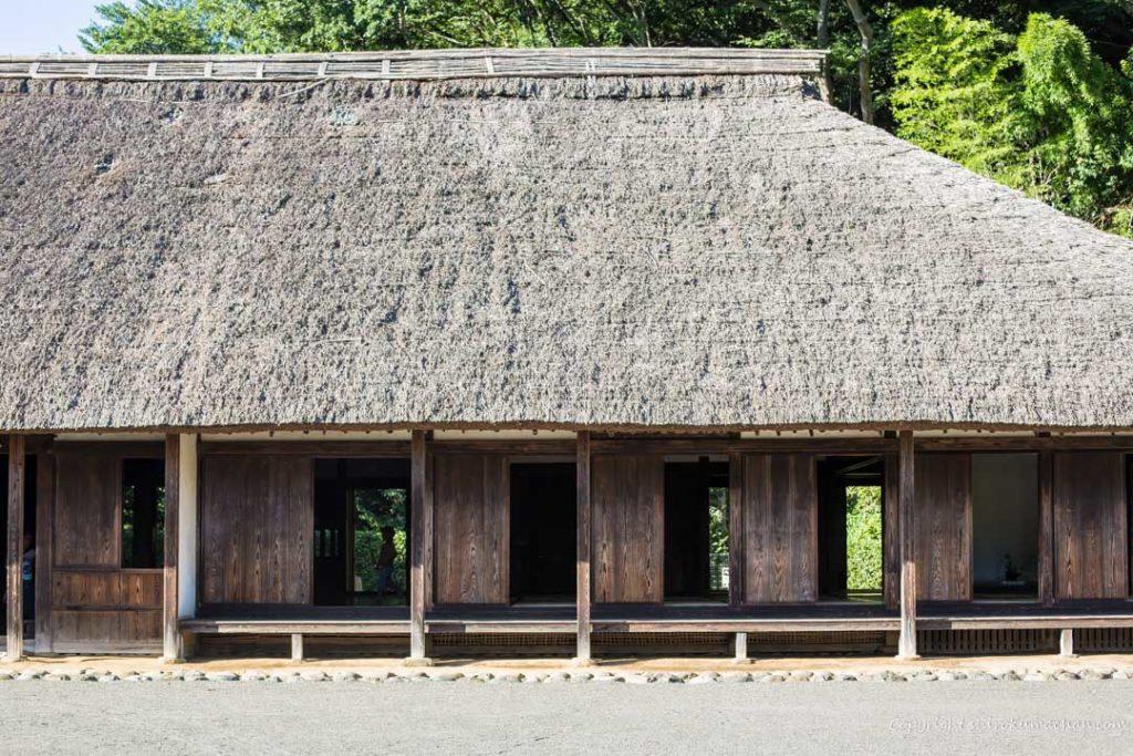 上大島キャンプ場-古民家