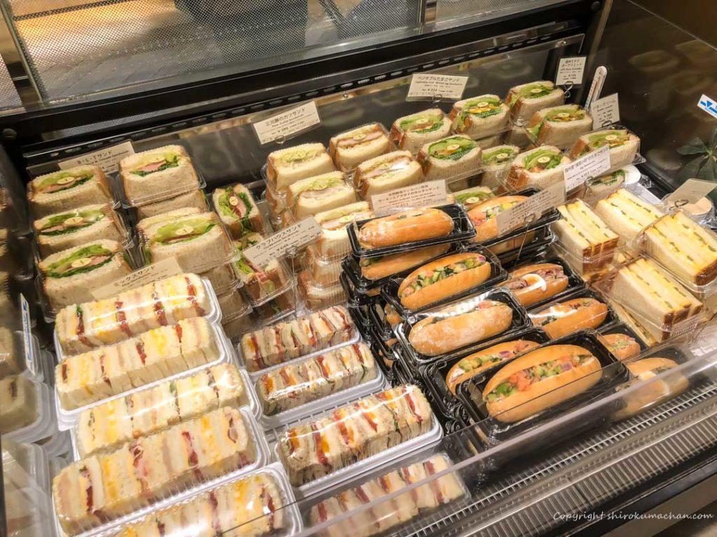 ブランジェ浅野屋 東京駅グランスタ-サンドイッチ