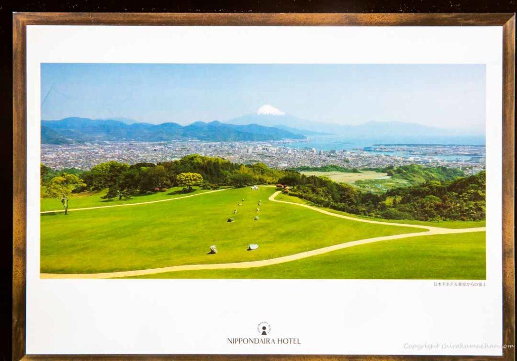 日本平ホテル富士山が見える絶景