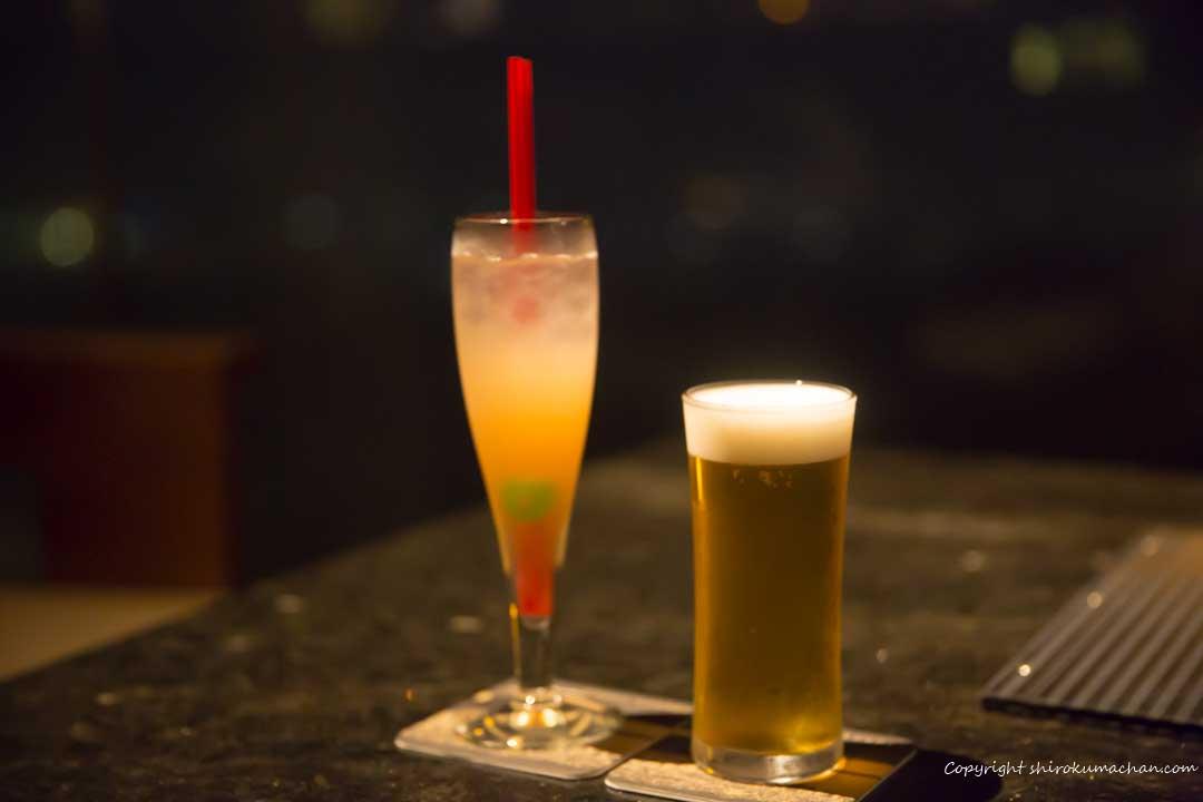 日本平ホテルラウンジビール