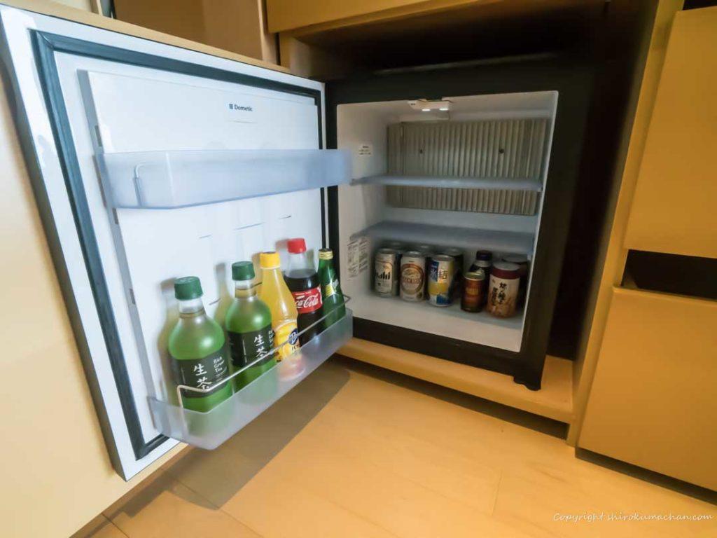 日本平ホテル客室冷蔵庫