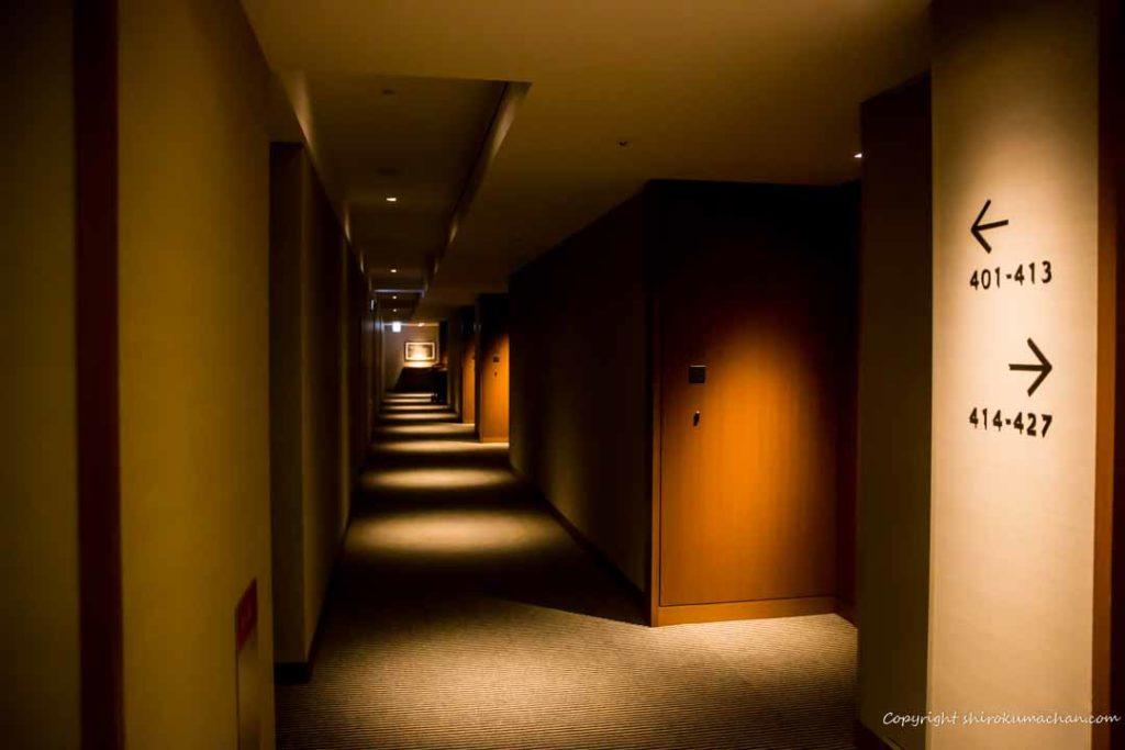日本平ホテル廊下
