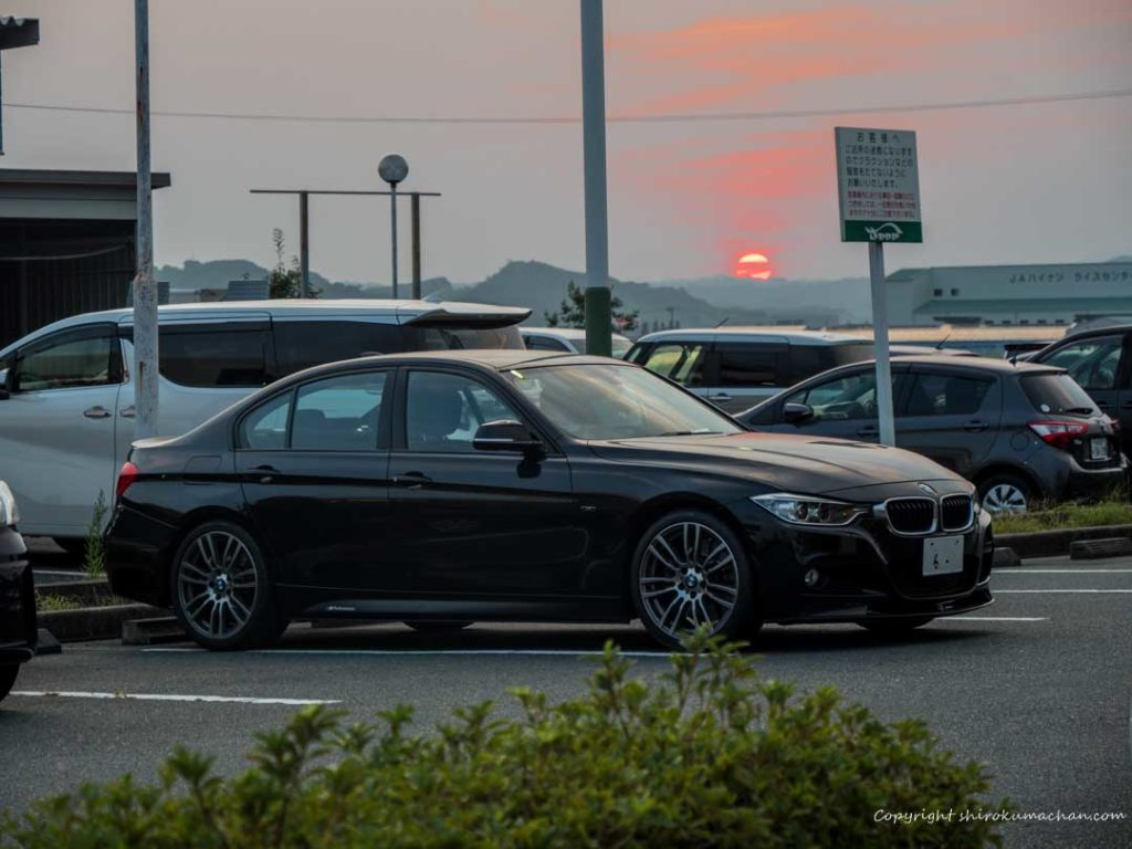 BMW 3 Series 328i at Restaurant Sawayaka