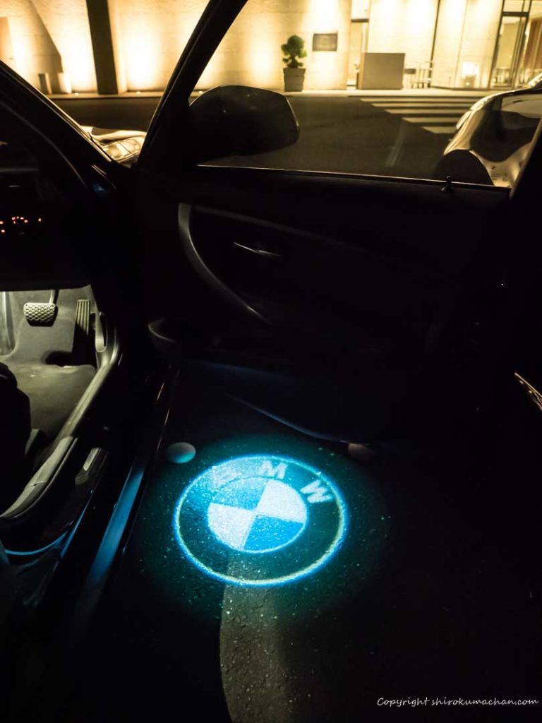 BMW led door projector
