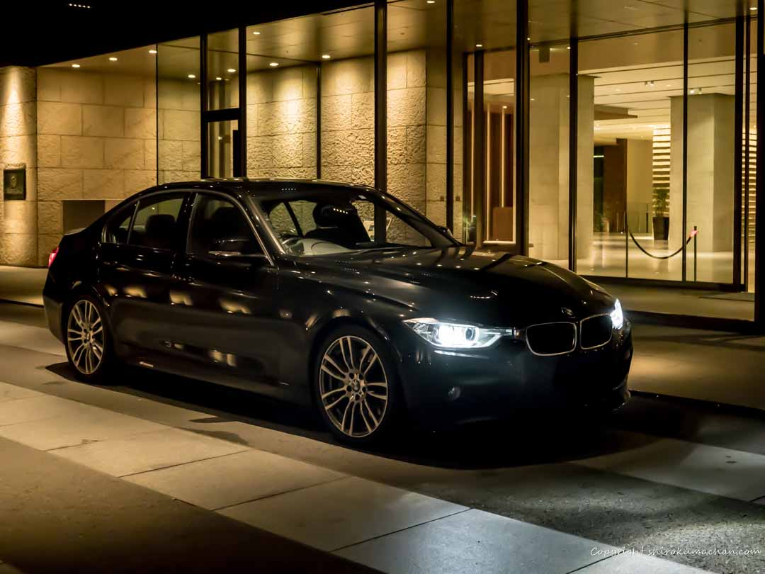 BMW328i M Sports Nippon Daira Hotel Entrance