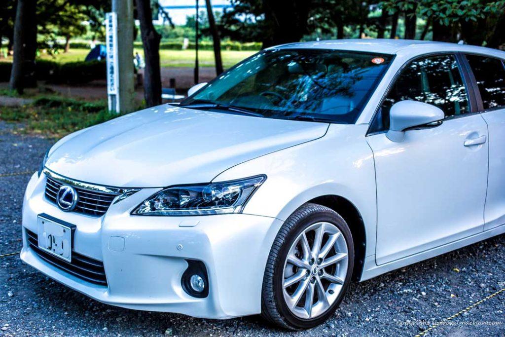Lexus CT Front