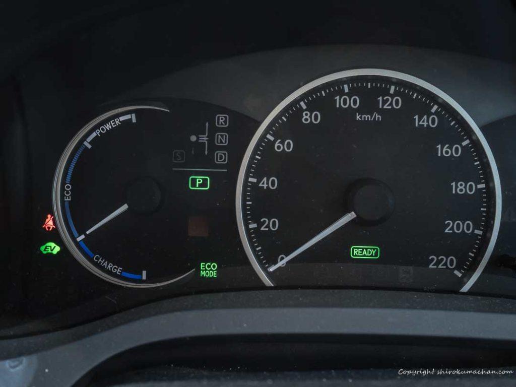 Lexus CT Hybrid Meter