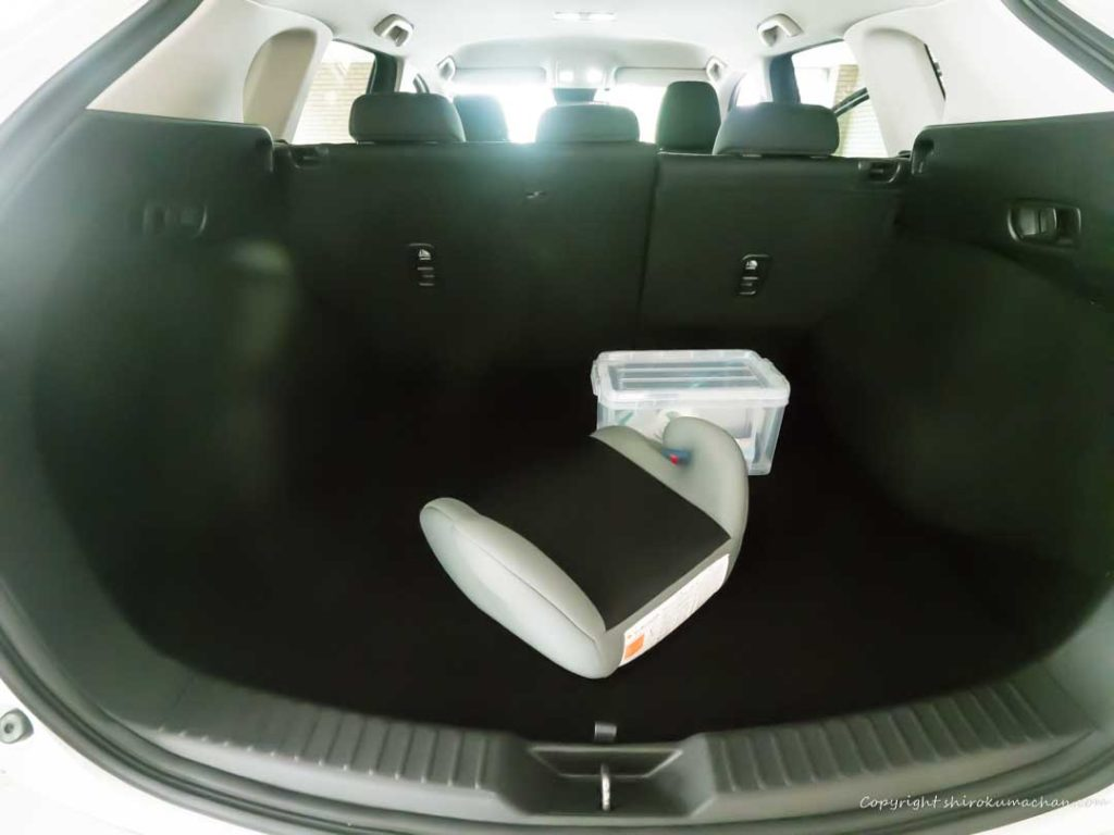 Mazda CX-5 Rear Luggage Room
