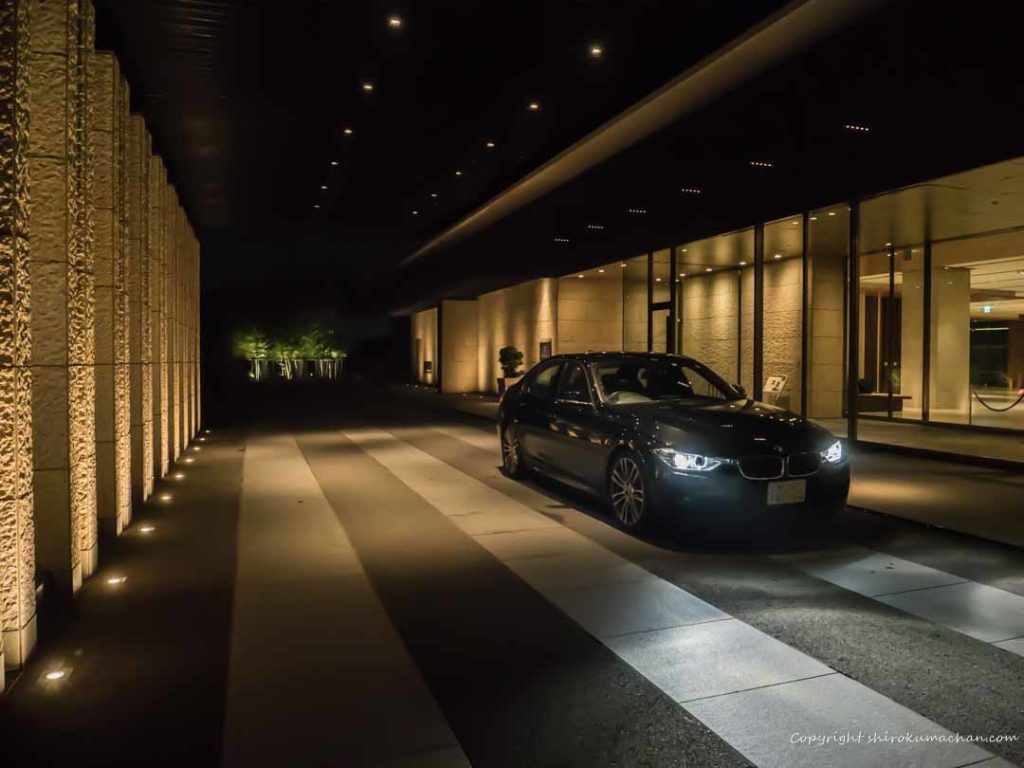 Nippon Daira Hotel Entrance BMW328i M Sports