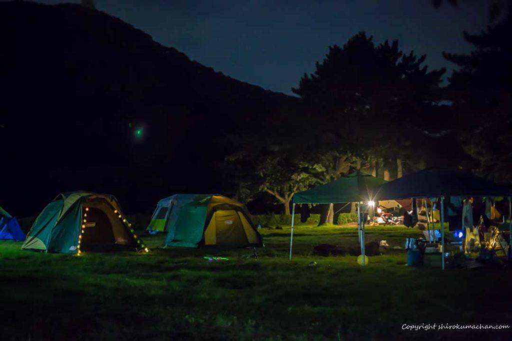 上大島キャンプ場-5