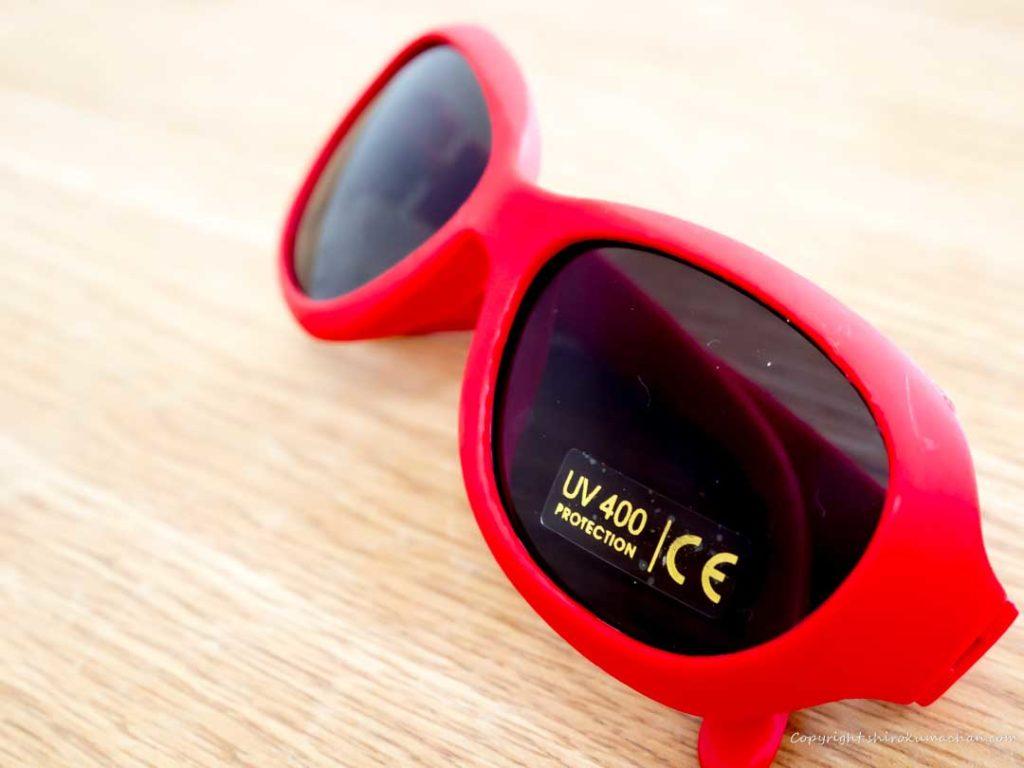 西松屋の子供用のサングラス