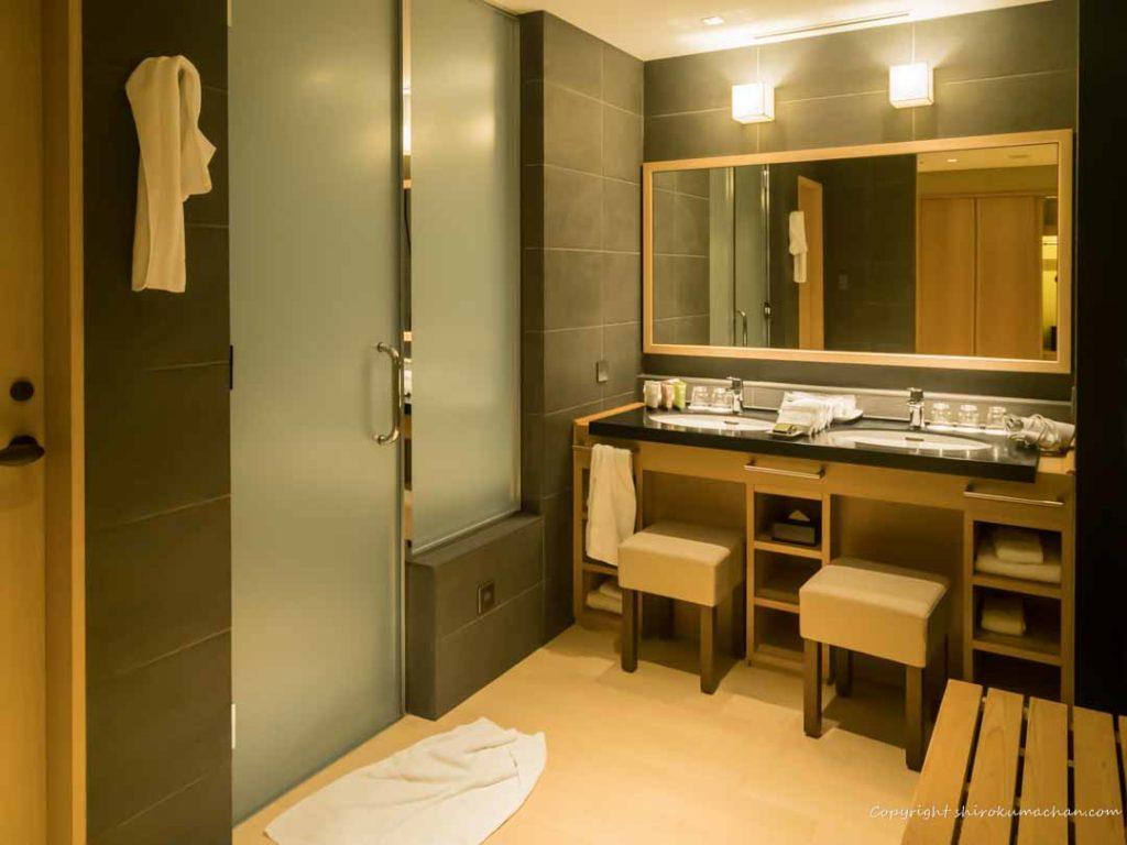 日本平ホテル洗面台