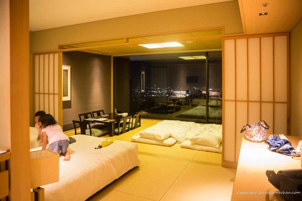 日本平ホテル客室