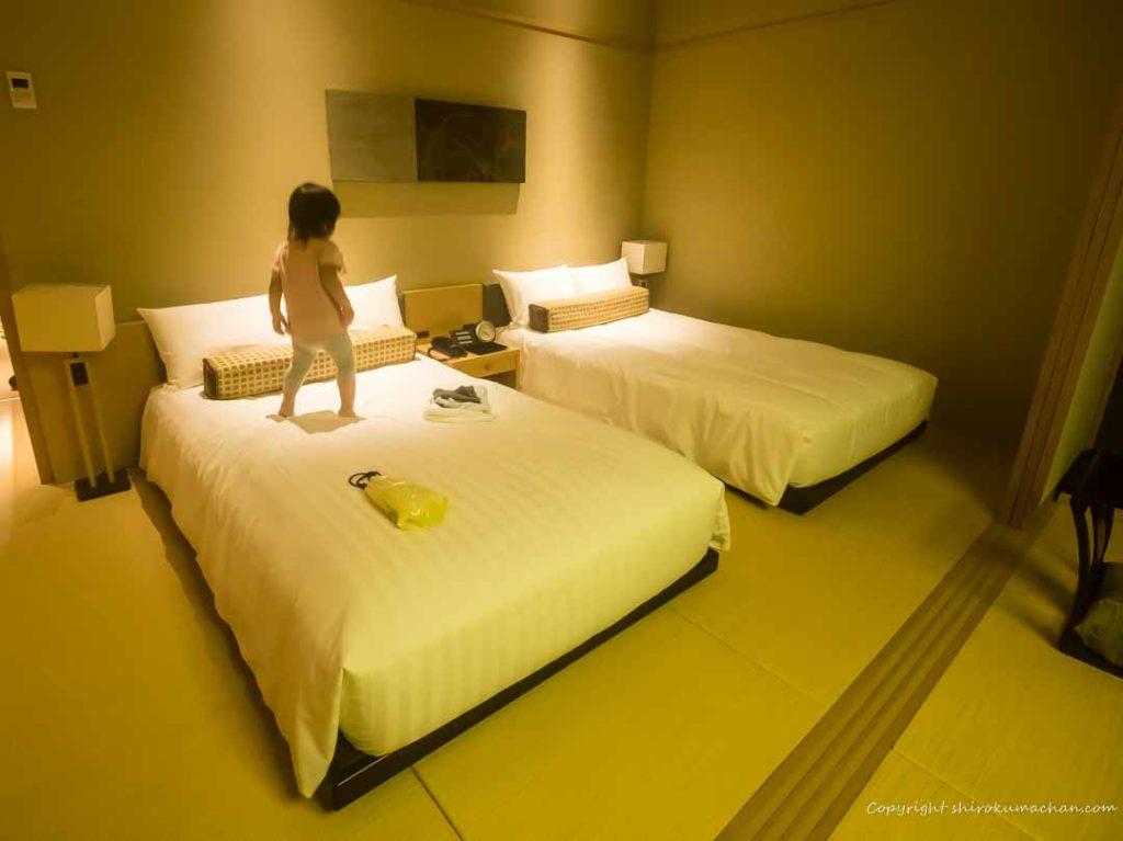 日本平ホテルベッド