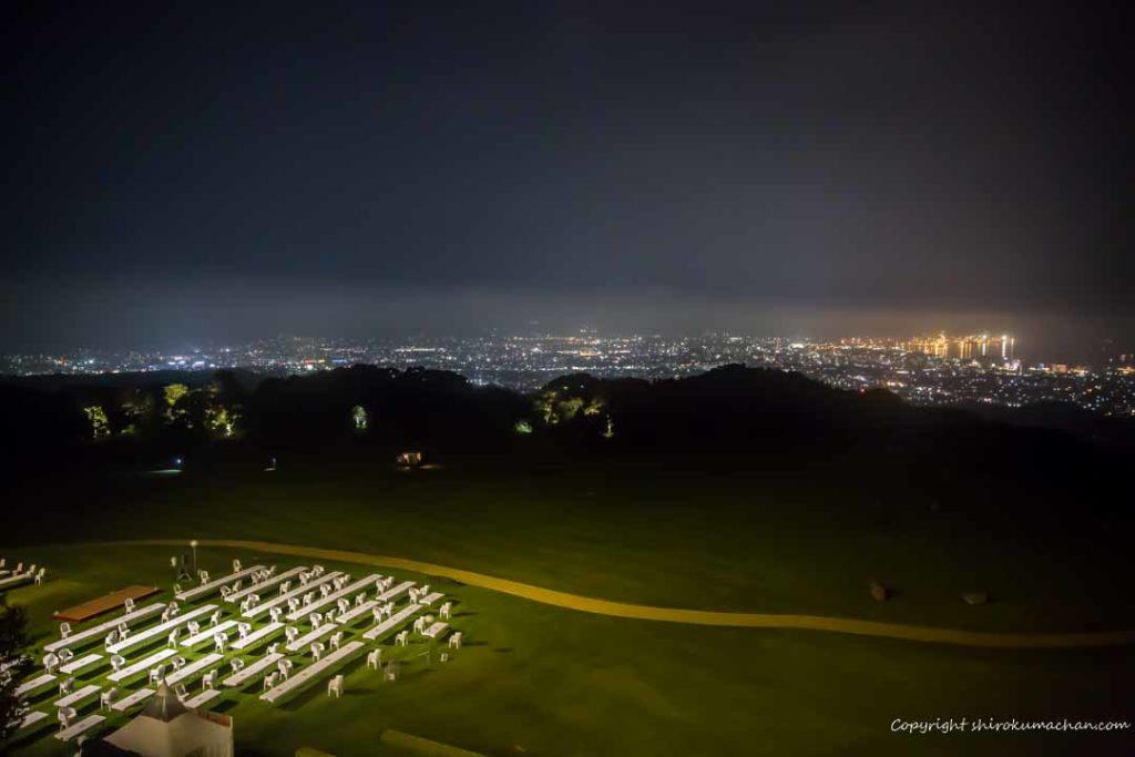日本平ホテル夜景