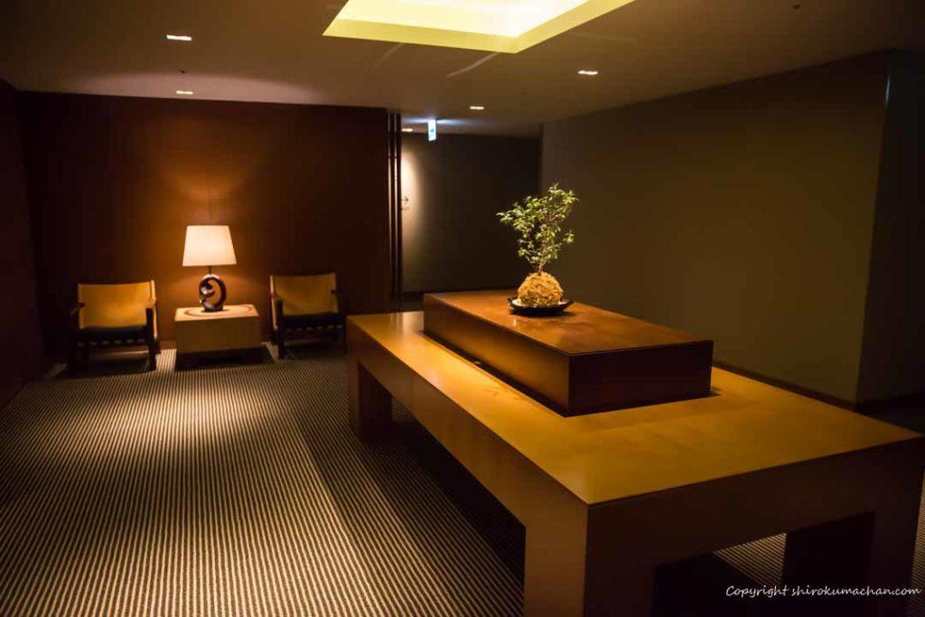 日本平ホテル和の要素