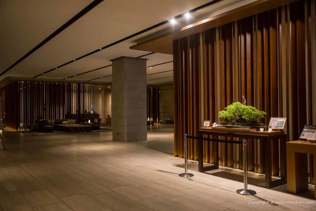 日本平ホテルロビー