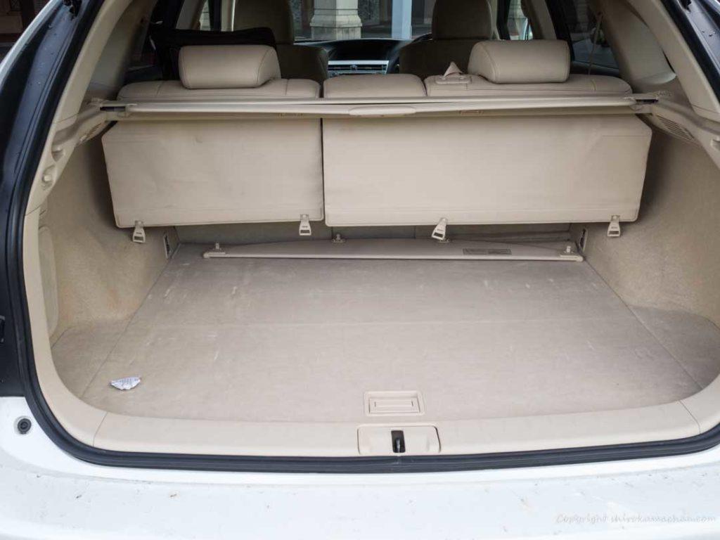 Lexus RX 収納スペース