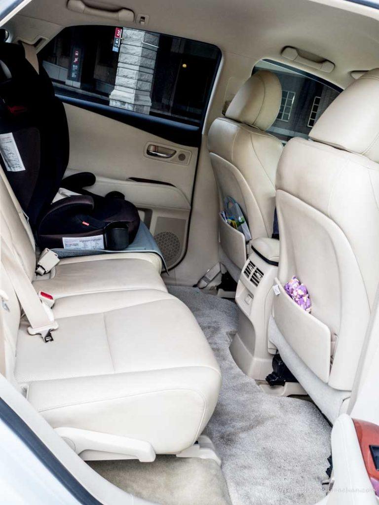 Lexus RX flat floor