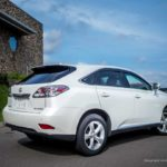 Lexus RX via Anyca at Cafe