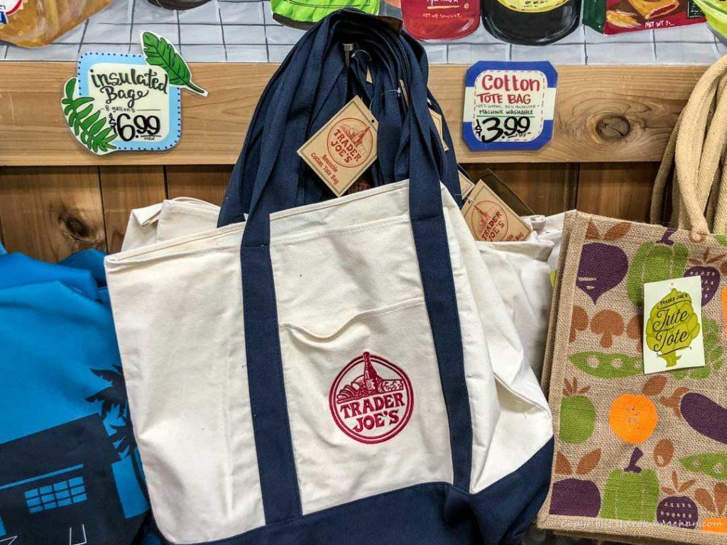TRADER JOE'S Cotton Tote Bag