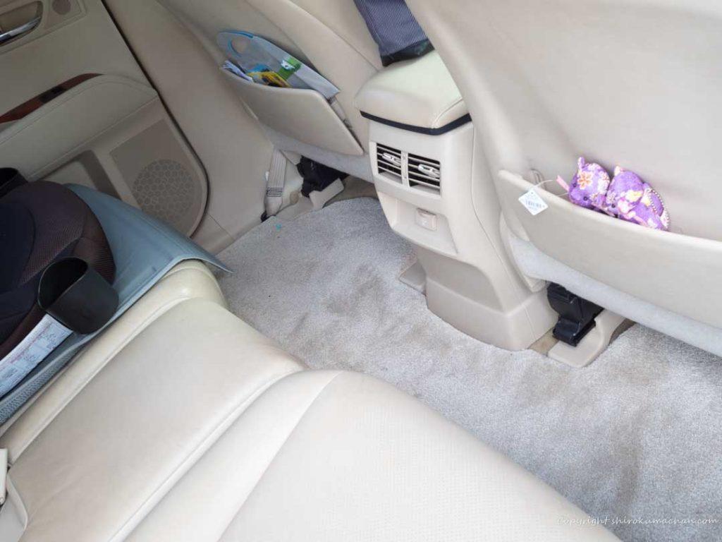 Lexus RX フラットな床