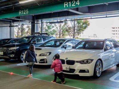 羽田空港駐車場 (2)
