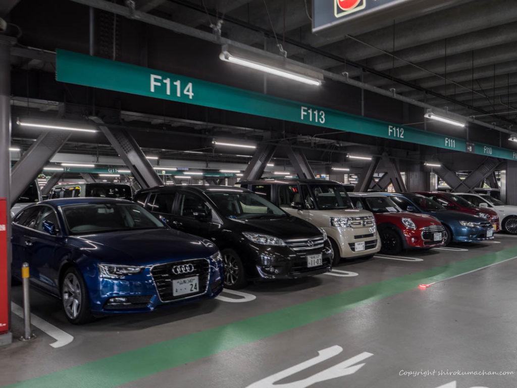 羽田空港駐車場内 (2)