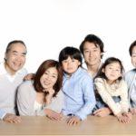 三世代家族写真