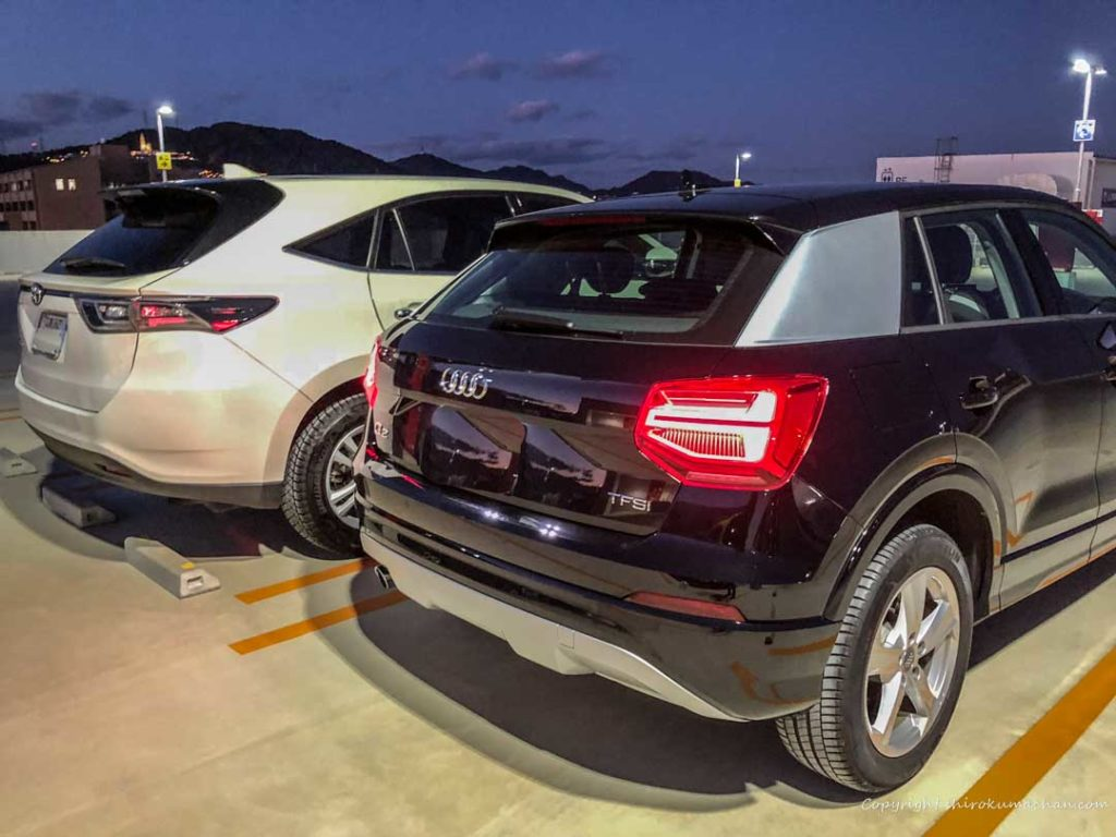 AUDI Q2 Toyota Harriar Comparison