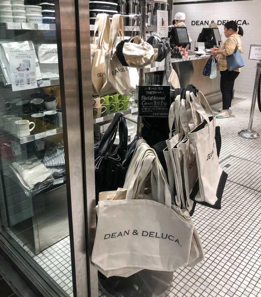 Dean and Deluca Tote Bag