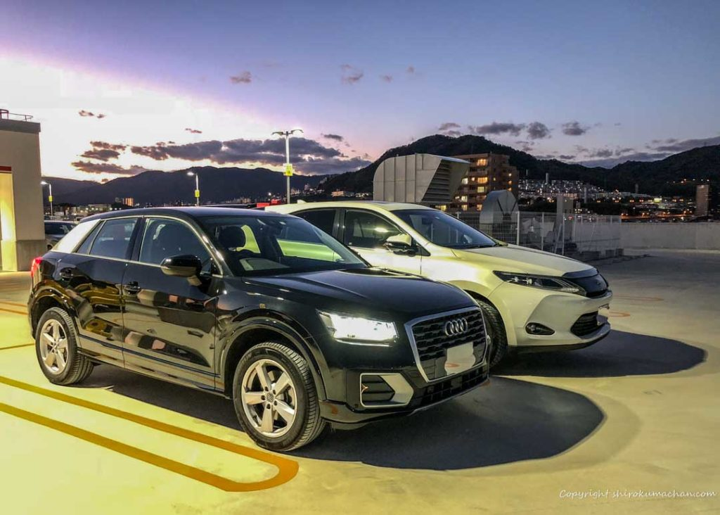Toyota Harriar AUDI Q2 Comparison