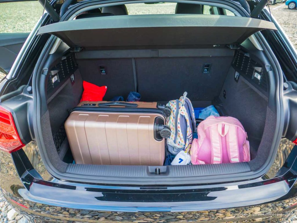 audi q2 luggage capacity
