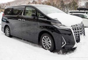 alphard rent a car 2018