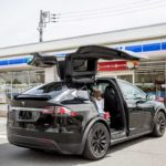 Tesla Model X Falcon Door