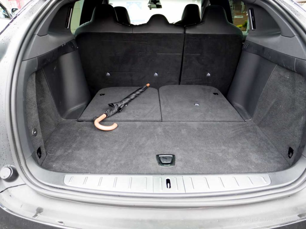 Tesla Model X Luggage Space