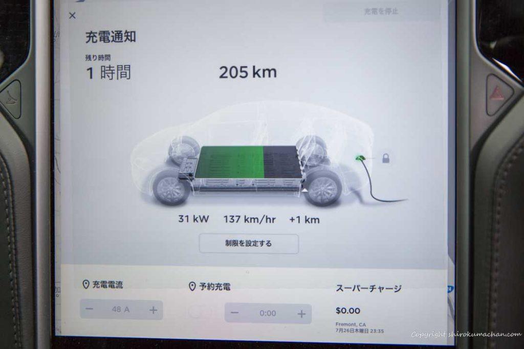 Tesla Model X Monitor