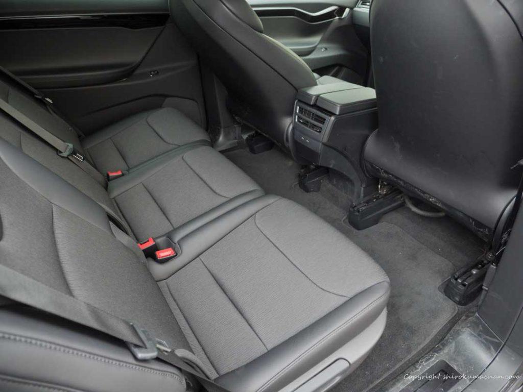 Tesla Model X Rear Seat