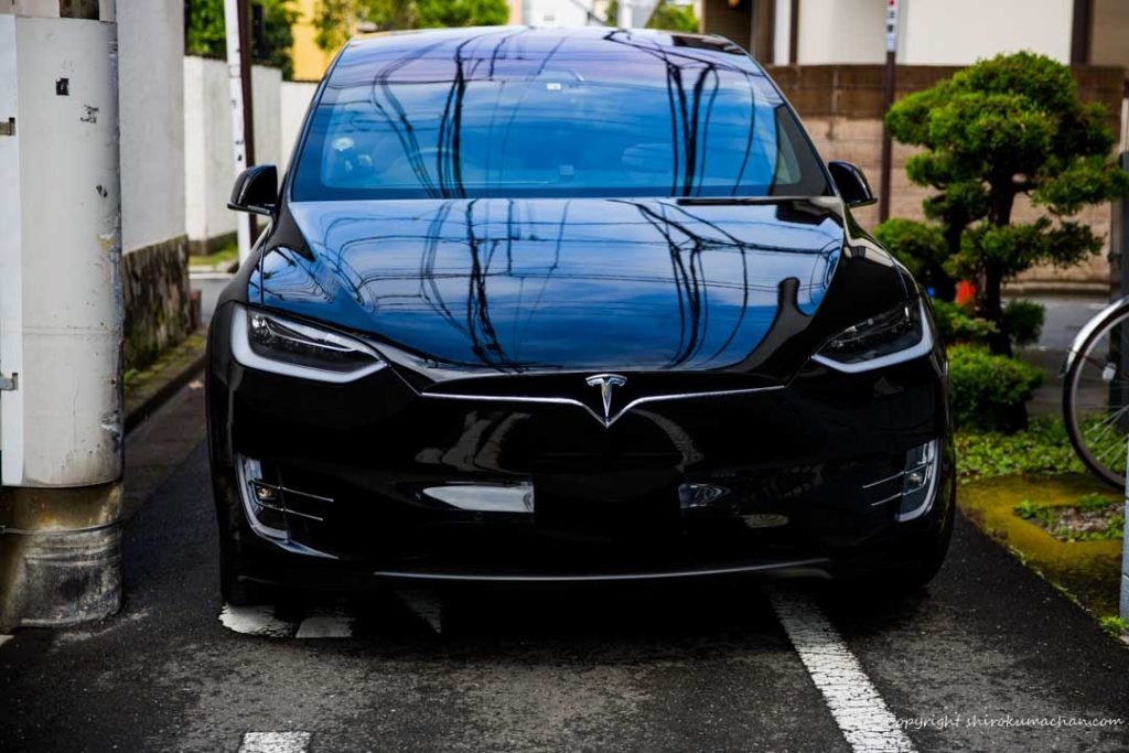 Tesla Model X Too big