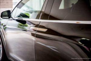 Tesla Model X door handle