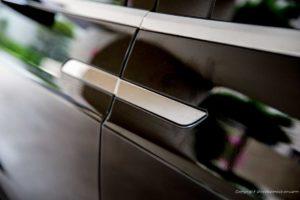 Tesla Model X door knob