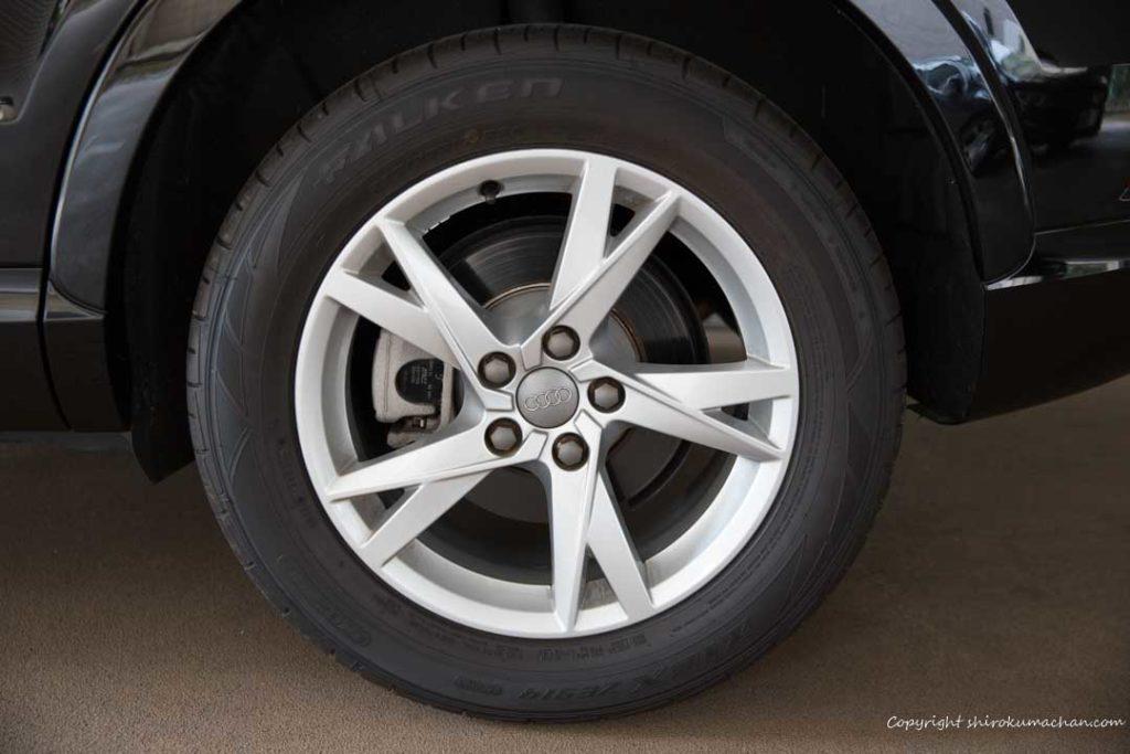 Audi Q3 Tire