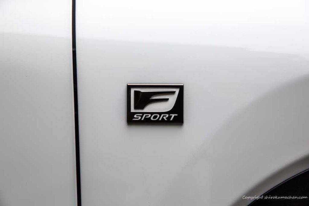 Lexus NX F Sport Logo