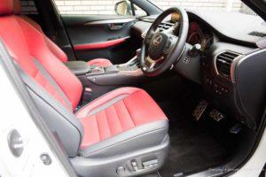 Lexus NX F Sport Pedal